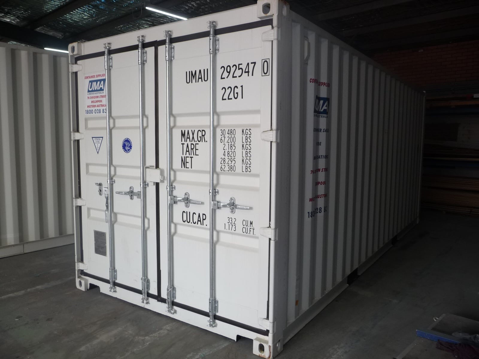 Shipping Containers For Sale Perth   New & Second Hand   U-Move