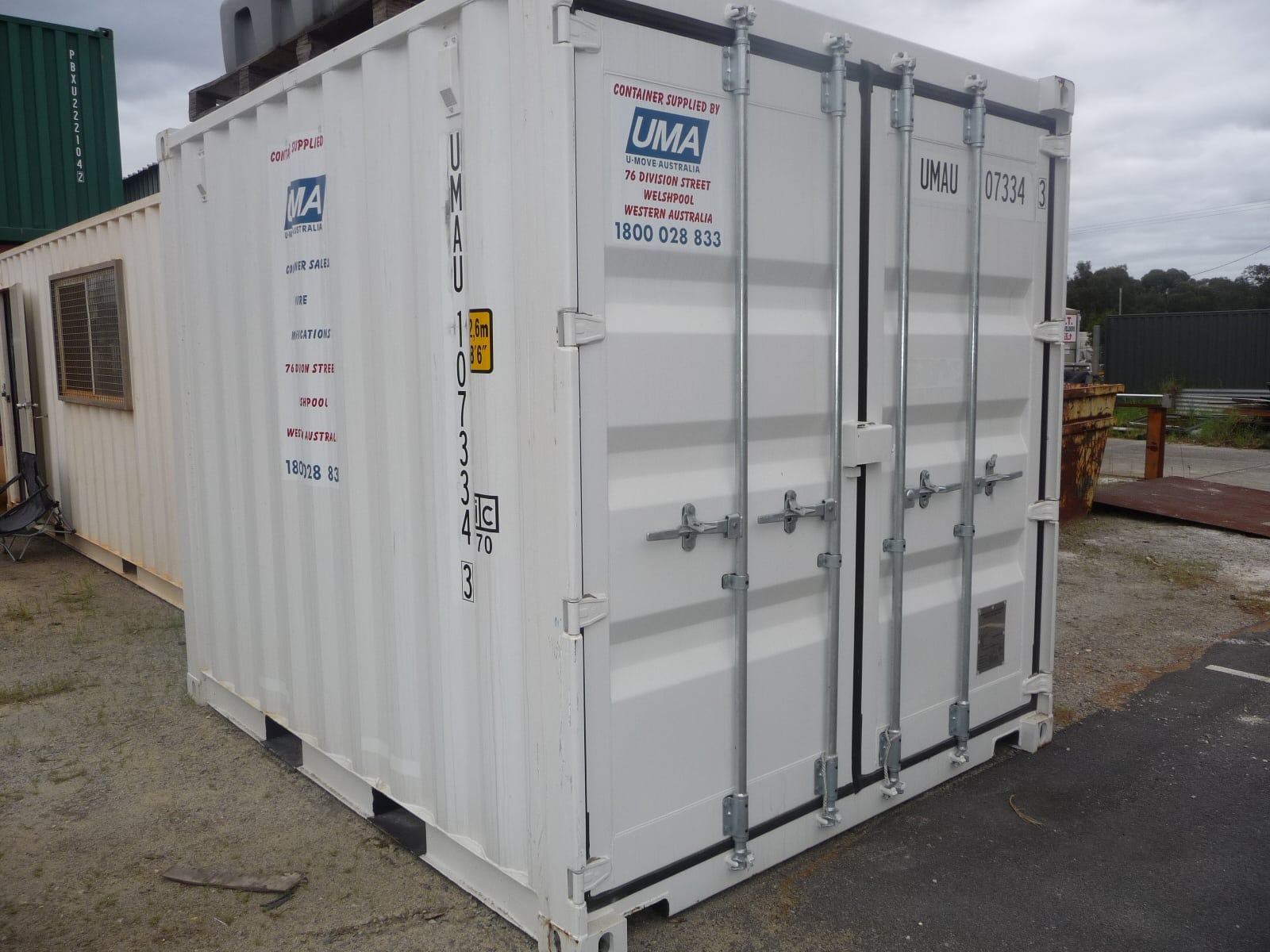 Shipping Containers For Sale Perth | New & Second Hand | U-Move