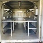 Off Shore Shipping Container interior Perth
