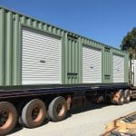 Modified Sea Containers Perth Transported - Lube Rooms